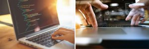 Couleurs, textures, typographies canadiennes et création de sites web canadiens.